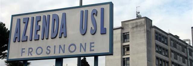 insegna Azienda USL Frosinone e strutture operative