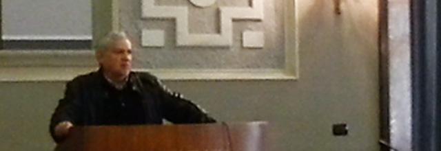 intervento nel corso della manifestazione dott. Luigi Macchitella Commissario Straordinario ASL Frosinone