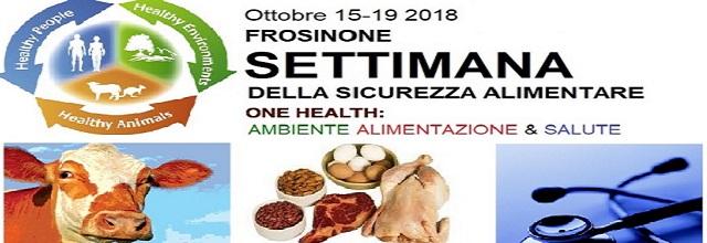 settimana sicurezza alimentare 2018 photo collage ambiente, alimentazione e salute