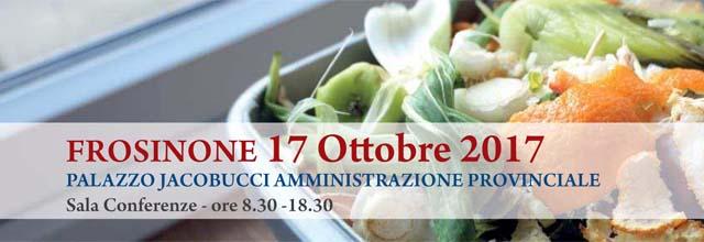 banner evento formativo del giorno 17 ottobre 2017 eccedenza alimentare in un contenitore