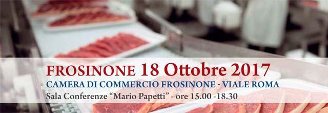 banner evento formativo del giorno 18 ottobre 2017 alimenti di origine animale confezionati