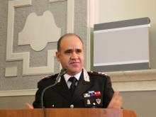 Ten. Col. A. Zapparelli Comandante Nucleo Operativo NAS