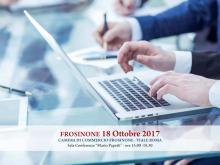 banner evento formativo del giorno 18 ottobre 2017 persone notebook organizzazione